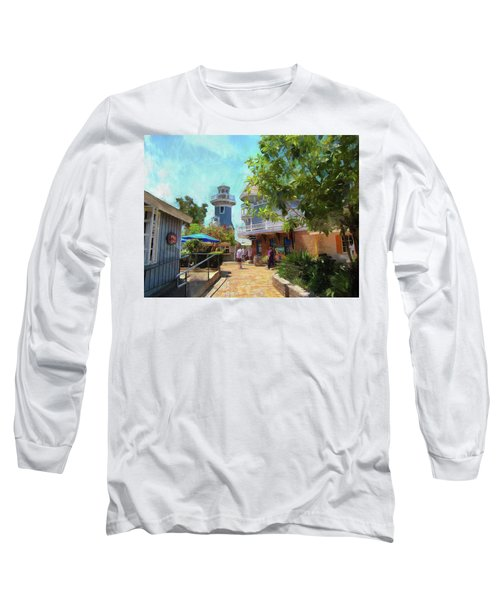 Lighthouse At Seaport Village Long Sleeve T-Shirt