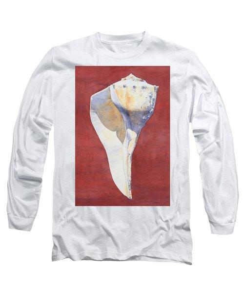 Lightning Whelk Conch I Long Sleeve T-Shirt