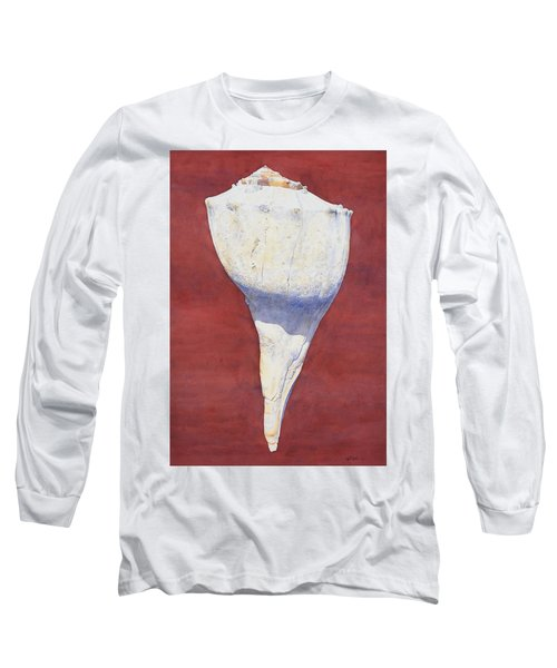Lightning Whelk Conch II Long Sleeve T-Shirt