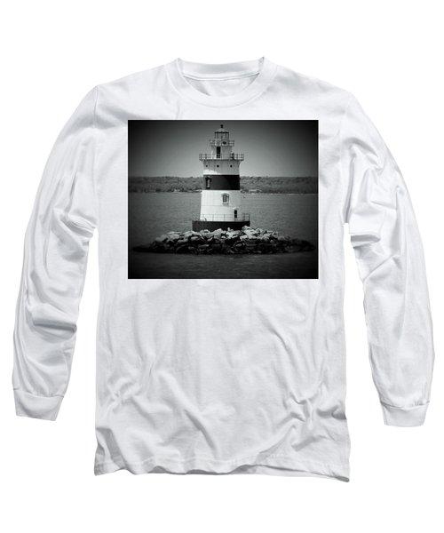 Lights Out-bw Long Sleeve T-Shirt