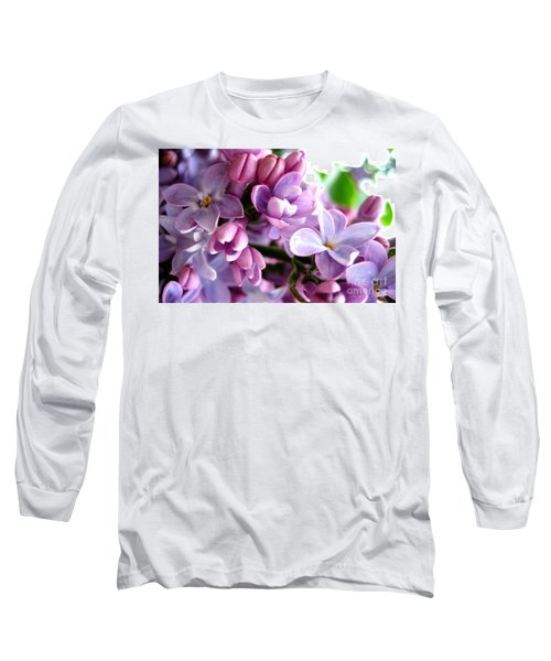 Lilacs Long Sleeve T-Shirt