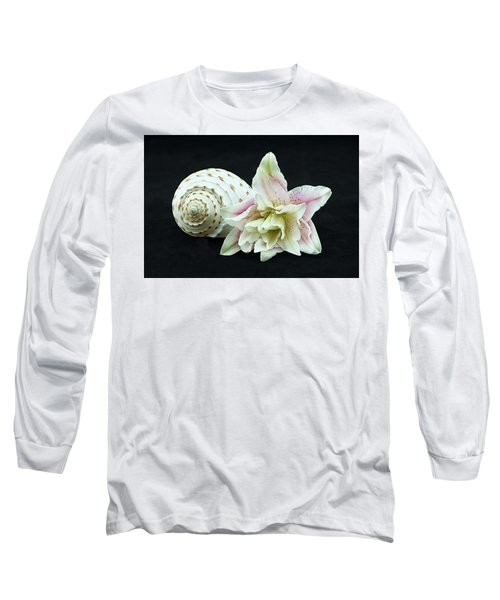 Lily And Shell Long Sleeve T-Shirt