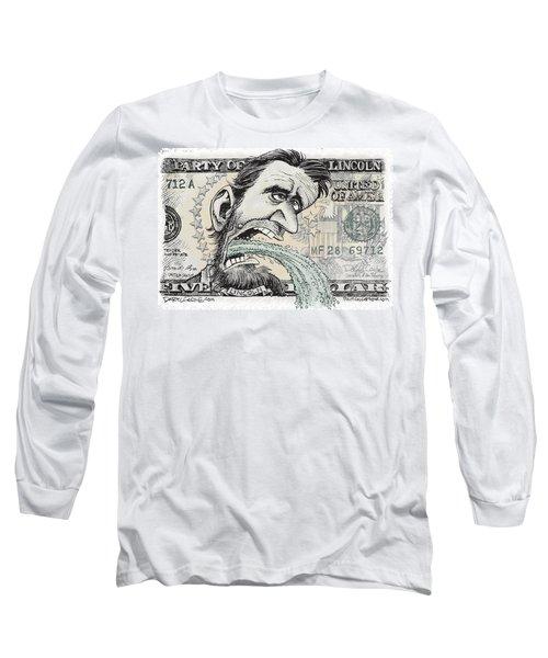 Lincoln Barfs Long Sleeve T-Shirt