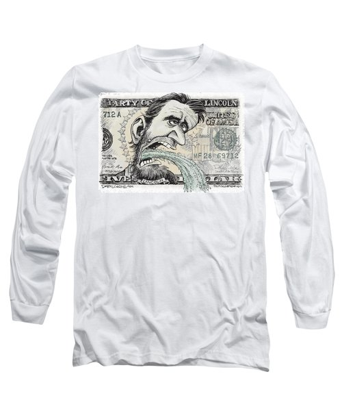 Lincoln Barfs Long Sleeve T-Shirt
