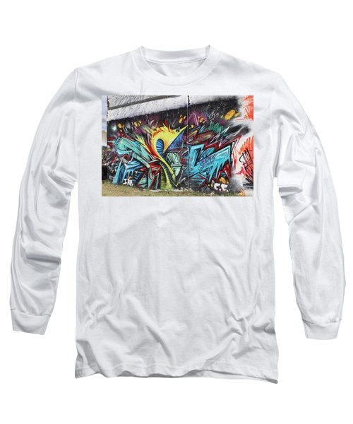 Long Sleeve T-Shirt featuring the painting Lincoln Street by Sheila Mcdonald