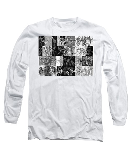 Lines Ballet Moves Long Sleeve T-Shirt