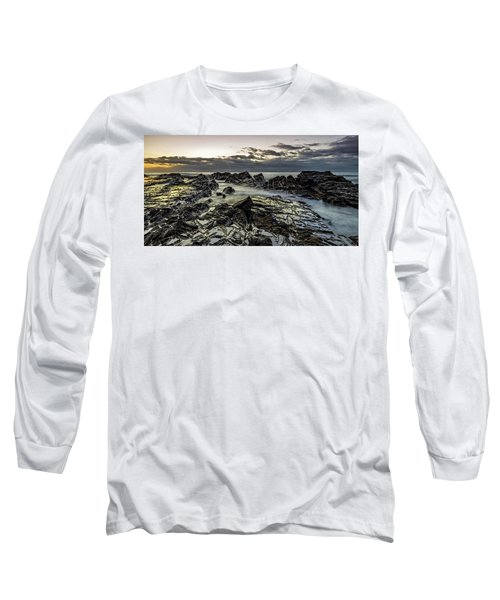 Lines Of Time Long Sleeve T-Shirt