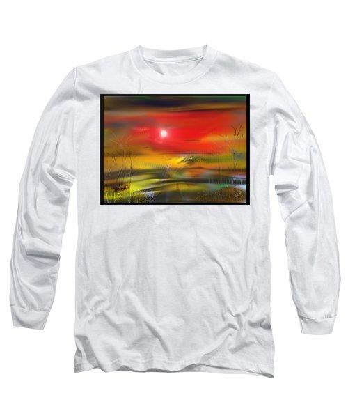 Midnight Flame Long Sleeve T-Shirt