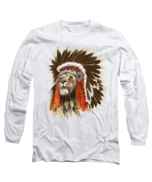 Lion Chief Long Sleeve T-Shirt