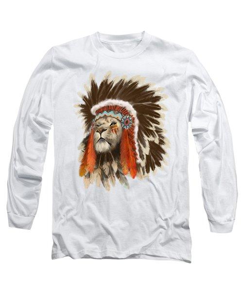 Lion Chief Long Sleeve T-Shirt