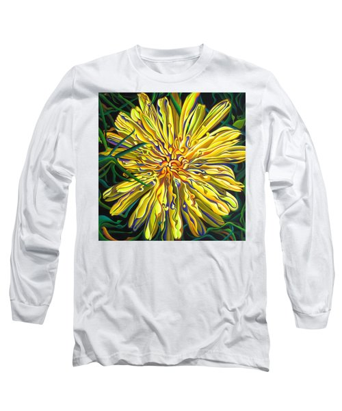 Lion In The Grass Long Sleeve T-Shirt