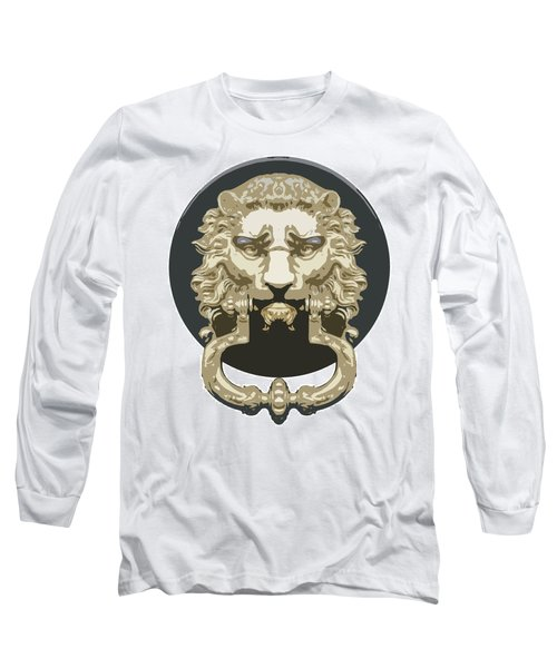 Lion Knocker Long Sleeve T-Shirt