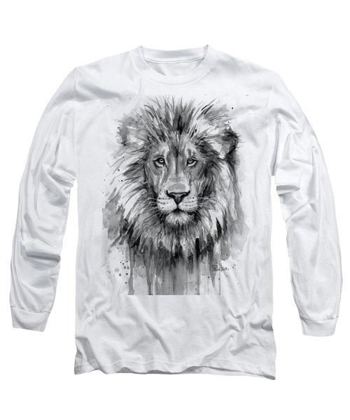 Lion Watercolor  Long Sleeve T-Shirt