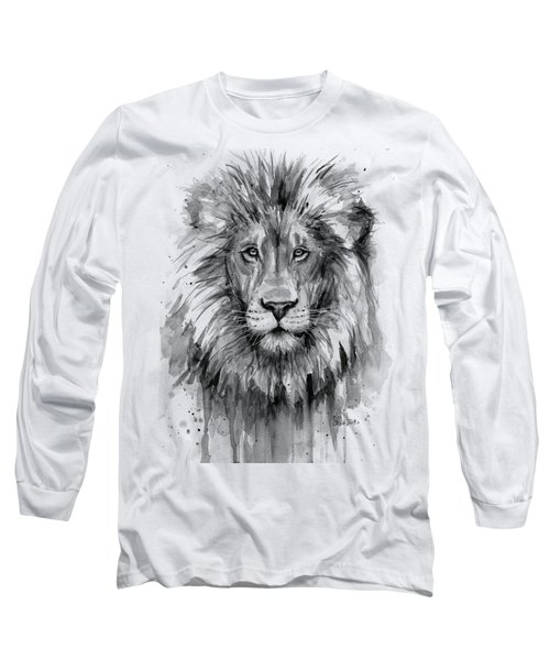 Lion Watercolor  Long Sleeve T-Shirt