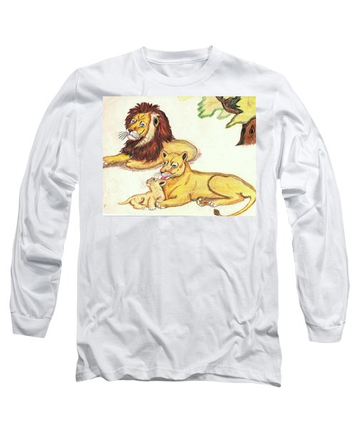 Lions Of The Tree Long Sleeve T-Shirt