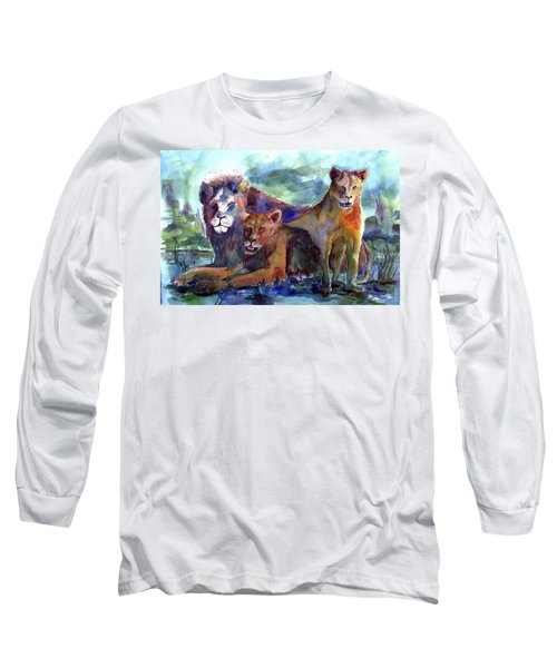 Lion's Play Long Sleeve T-Shirt