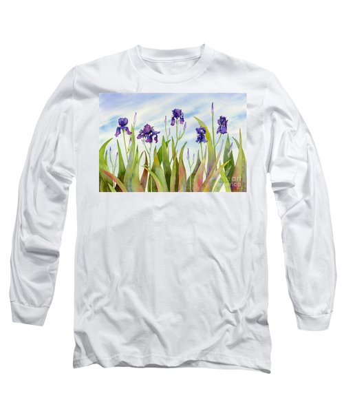 Listening To Divas Long Sleeve T-Shirt by Amy Kirkpatrick