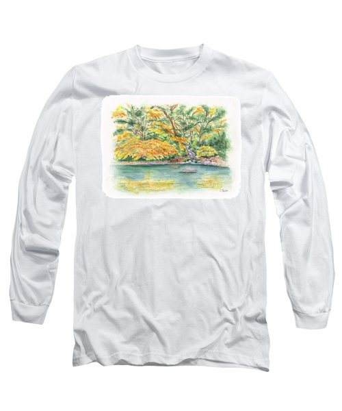 Lithia Park Reflections Long Sleeve T-Shirt