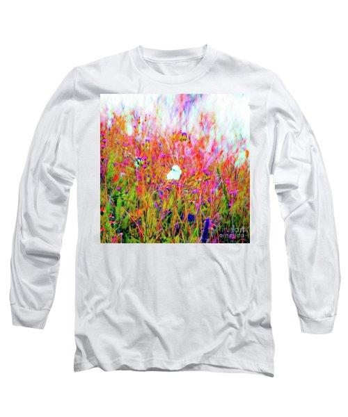 Little Butterfly Fly Long Sleeve T-Shirt