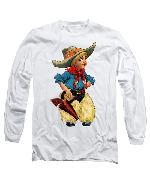 Little Cowboy T Shirt Long Sleeve T-Shirt