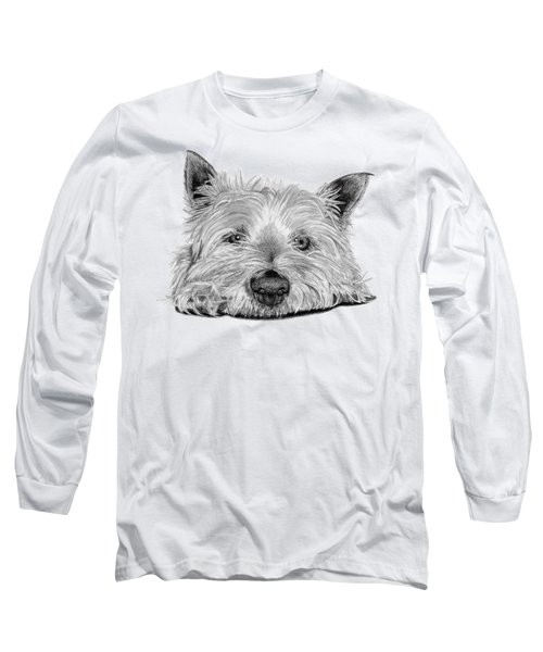 Little Dog Long Sleeve T-Shirt by Sarah Batalka