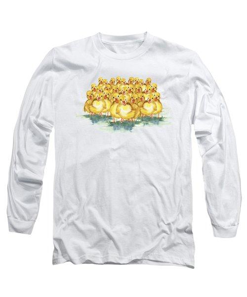 Little Duck Family Long Sleeve T-Shirt