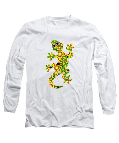 Little Lizard - Animal Art Long Sleeve T-Shirt