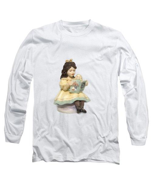 Little Miss Muffet Cutout Long Sleeve T-Shirt