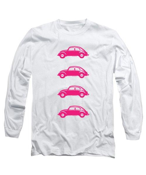 Little Pink Beetles Long Sleeve T-Shirt