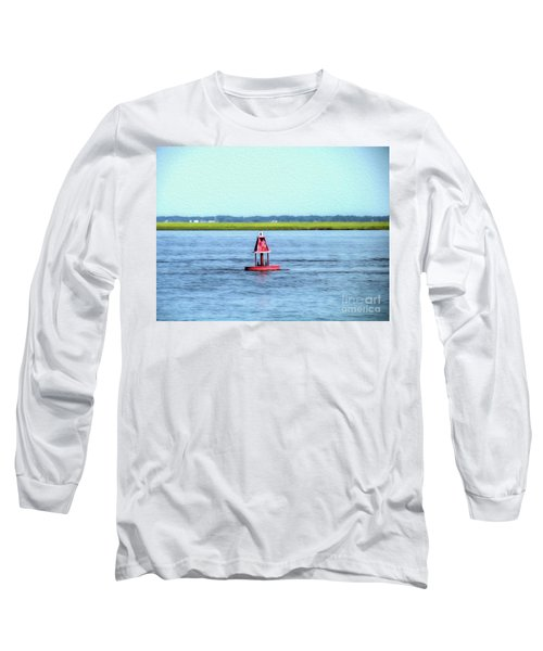 Little Red Buoy  Long Sleeve T-Shirt