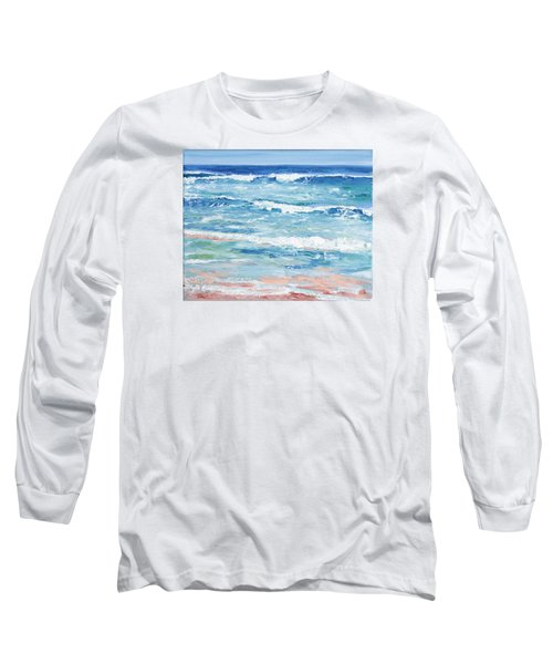 Little Riptides Long Sleeve T-Shirt by Trina Teele