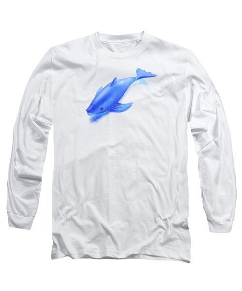 Little Rubber Fish Long Sleeve T-Shirt by YoPedro