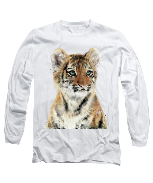 Little Tiger Long Sleeve T-Shirt by Amy Hamilton