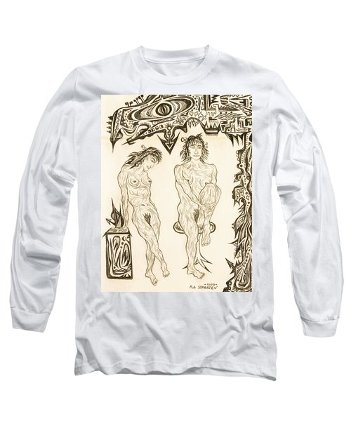 Live Nude 10 Female Long Sleeve T-Shirt