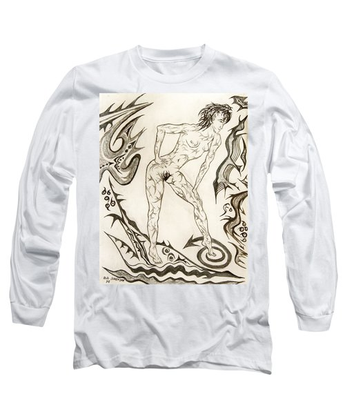 Live Nude 3 Female Long Sleeve T-Shirt