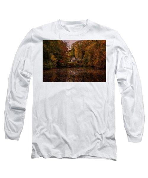 Living Between Autumn Colors Long Sleeve T-Shirt