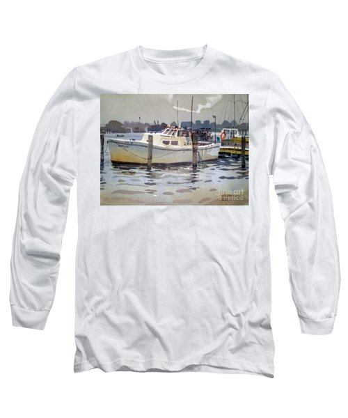 Lobster Boats In Shark River Long Sleeve T-Shirt