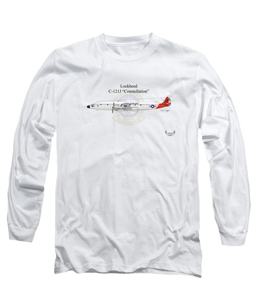 Lockheed C-121j Constellation Long Sleeve T-Shirt