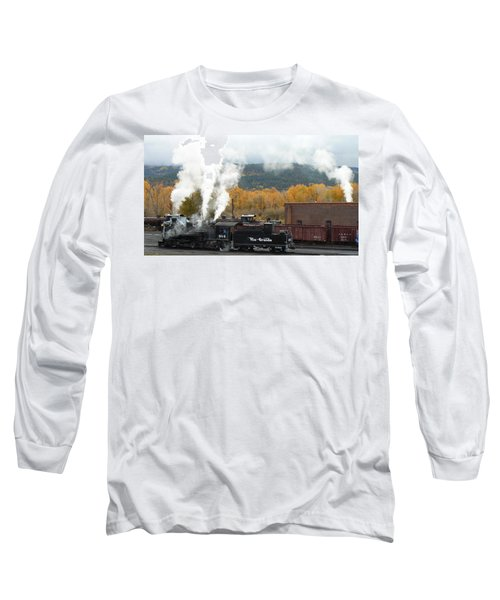 Locomotive At Chama Long Sleeve T-Shirt