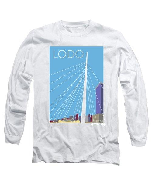 Lodo/blue Long Sleeve T-Shirt