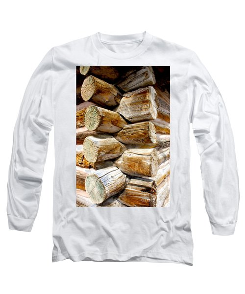 Log Cabin Corner Long Sleeve T-Shirt