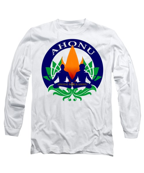 Logo Of Ahonu.com Long Sleeve T-Shirt
