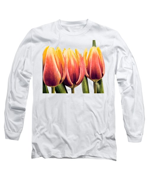 Lomo Tulips Long Sleeve T-Shirt by Sebastien Coell