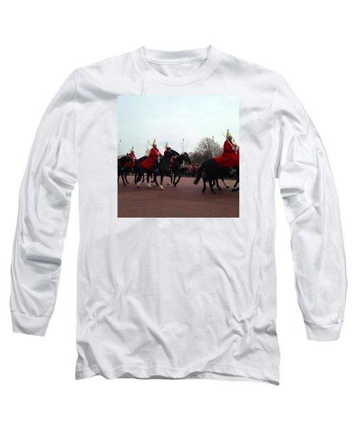 London Calling Long Sleeve T-Shirt by Mihaela Raluca