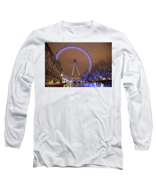 Big Wheel Long Sleeve T-Shirt by David Chandler