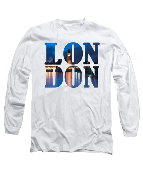 London Letters Long Sleeve T-Shirt by Matt Malloy