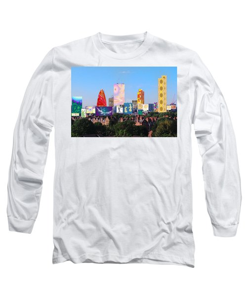 London Skyline Collage 1 Long Sleeve T-Shirt