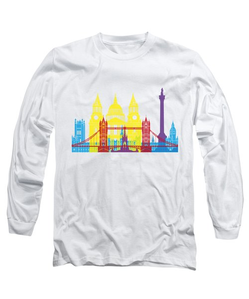 London Skyline Pop Long Sleeve T-Shirt