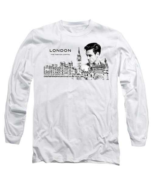 London The Fashion Capital Long Sleeve T-Shirt