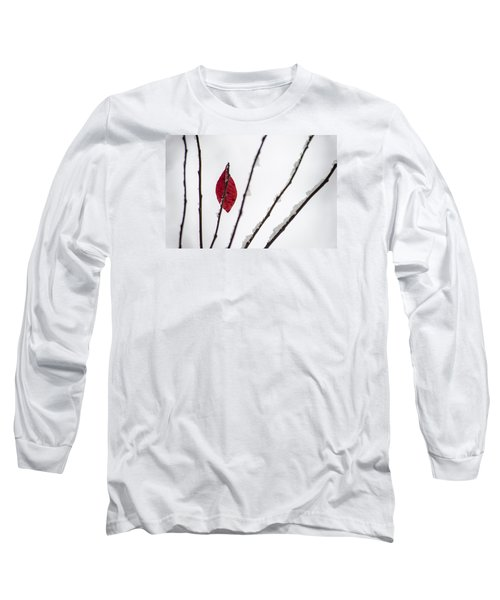 Long Sleeve T-Shirt featuring the photograph Lone Survivor by Deborah Smolinske